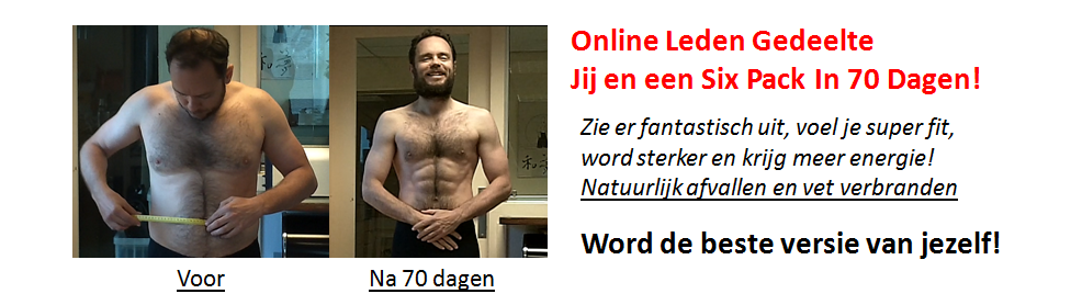 Leden Gedeelde Six Pack In 70 Dagen